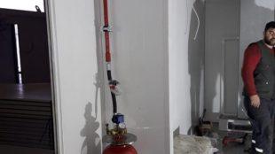 Konteyner Yangın Söndürme Sistemi