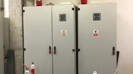 Elektrik Panosu Yangın Söndürme Sistemi